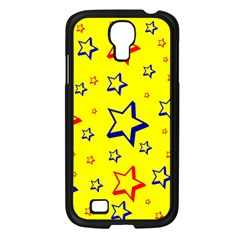 Star Yellow Red Blue Samsung Galaxy S4 I9500/ I9505 Case (black) by AnjaniArt