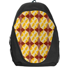 Star Brown Yellow Light Backpack Bag by AnjaniArt