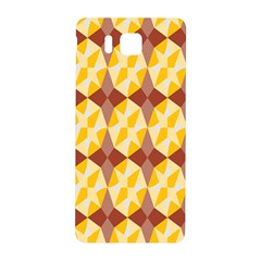 Star Brown Yellow Light Samsung Galaxy Alpha Hardshell Back Case by AnjaniArt