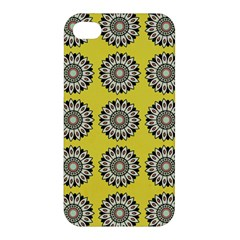 Sunflower Apple Iphone 4/4s Premium Hardshell Case