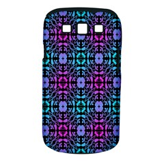 Star Flower Background Pattern Colour Samsung Galaxy S Iii Classic Hardshell Case (pc+silicone) by AnjaniArt