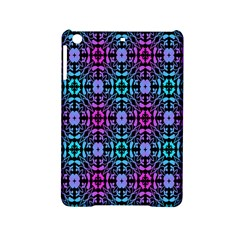 Star Flower Background Pattern Colour Ipad Mini 2 Hardshell Cases by AnjaniArt