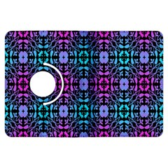 Star Flower Background Pattern Colour Kindle Fire Hdx Flip 360 Case by AnjaniArt
