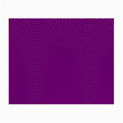 Stripy Purple Small Glasses Cloth by AnjaniArt