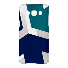 Tri Star Flag Samsung Galaxy A5 Hardshell Case  by AnjaniArt
