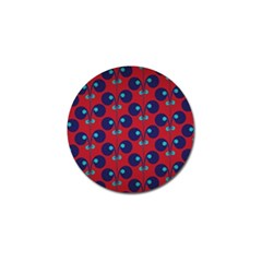 Texture Bright Circles Golf Ball Marker (4 Pack) by AnjaniArt
