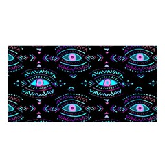 Third Eye Purple Satin Shawl by AnjaniArt