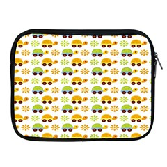 Turtle Green Yellow Flower Animals Apple Ipad 2/3/4 Zipper Cases by AnjaniArt