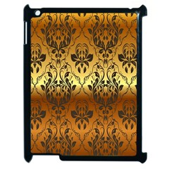 Vintage Gold Gradient Golden Resolution Apple Ipad 2 Case (black) by AnjaniArt