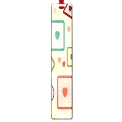 Wheel Love Valentine Large Book Marks by AnjaniArt