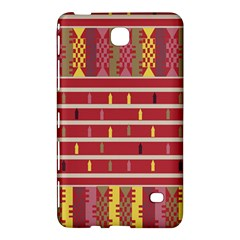 Woven Fabric Pink Samsung Galaxy Tab 4 (7 ) Hardshell Case  by AnjaniArt