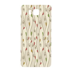Flower Floral Leaf Samsung Galaxy Alpha Hardshell Back Case by AnjaniArt
