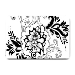 Free Floral Decorative Small Doormat  by AnjaniArt