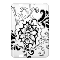 Free Floral Decorative Kindle Fire Hd 8 9  by AnjaniArt