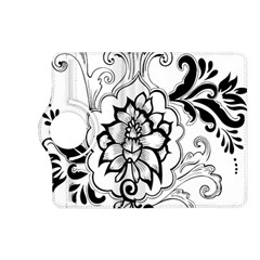Free Floral Decorative Kindle Fire Hd (2013) Flip 360 Case by AnjaniArt