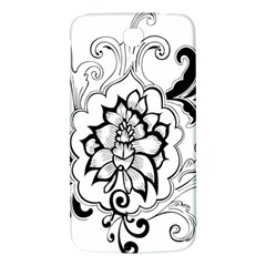 Free Floral Decorative Samsung Galaxy Mega I9200 Hardshell Back Case