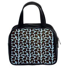 Giraffe Skin Animals Classic Handbags (2 Sides) by AnjaniArt