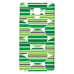Mint Green Galaxy Note 4 Back Case by AnjaniArt