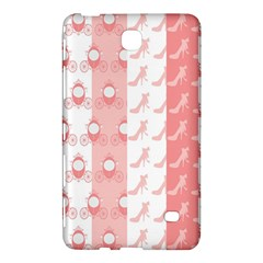 Modelos Toppers Princesa Handcrafted Studio Train King Pink Samsung Galaxy Tab 4 (7 ) Hardshell Case  by AnjaniArt