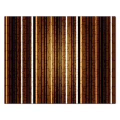 Line Brown Rectangular Jigsaw Puzzl by AnjaniArt