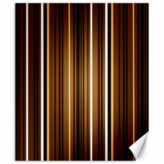Line Brown Canvas 20  X 24   by AnjaniArt