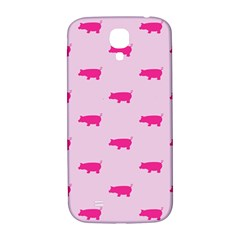 Pig Pink Animals Samsung Galaxy S4 I9500/i9505  Hardshell Back Case by AnjaniArt