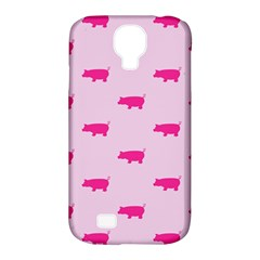Pig Pink Animals Samsung Galaxy S4 Classic Hardshell Case (pc+silicone) by AnjaniArt