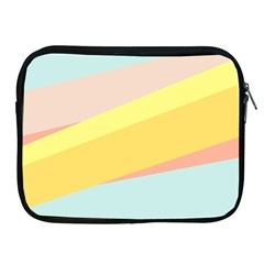 Pink Green Yellow Line Flag Apple Ipad 2/3/4 Zipper Cases by AnjaniArt