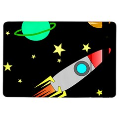 Planet Saturn Rocket Star Ipad Air 2 Flip by AnjaniArt