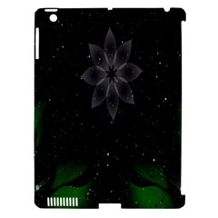 Night Sky Flower Apple Ipad 3/4 Hardshell Case (compatible With Smart Cover) by AnjaniArt