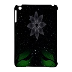Night Sky Flower Apple Ipad Mini Hardshell Case (compatible With Smart Cover) by AnjaniArt