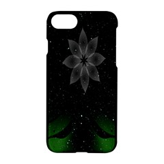 Night Sky Flower Apple Iphone 7 Hardshell Case by AnjaniArt