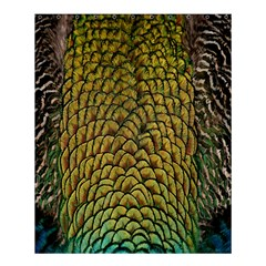Peacock Bird Feather Color Shower Curtain 60  X 72  (medium)  by AnjaniArt