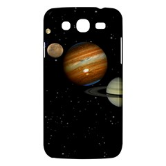 Outer Space Planets Solar System Samsung Galaxy Mega 5 8 I9152 Hardshell Case  by Onesevenart