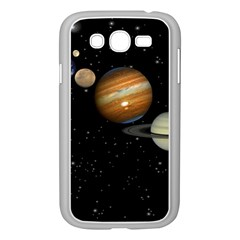 Outer Space Planets Solar System Samsung Galaxy Grand Duos I9082 Case (white) by Onesevenart
