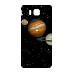 Outer Space Planets Solar System Samsung Galaxy Alpha Hardshell Back Case by Onesevenart
