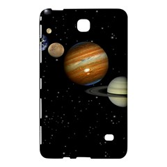 Outer Space Planets Solar System Samsung Galaxy Tab 4 (8 ) Hardshell Case  by Onesevenart