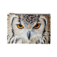 Owl Face Cosmetic Bag (large)