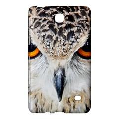 Owl Face Samsung Galaxy Tab 4 (8 ) Hardshell Case  by Onesevenart