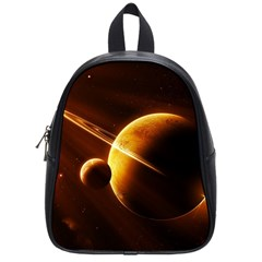 Planets Space School Bags (small)  by Onesevenart