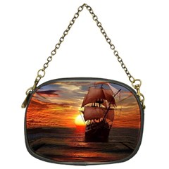 Pirate Ship Chain Purses (one Side)  by Onesevenart