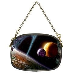 Planets In Space Chain Purses (two Sides)  by Onesevenart