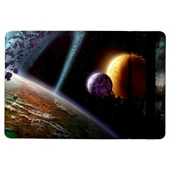 Planets In Space iPad Air Flip by Onesevenart