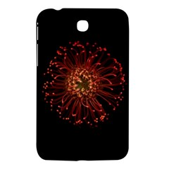 Red Flower Blooming In The Dark Samsung Galaxy Tab 3 (7 ) P3200 Hardshell Case  by Onesevenart