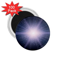 Real Photographs In Saturns Rings 2 25  Magnets (100 Pack)  by Onesevenart