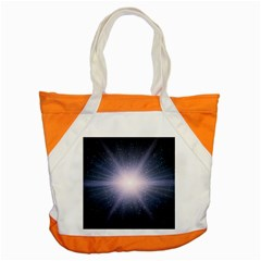 Real Photographs In Saturns Rings Accent Tote Bag by Onesevenart