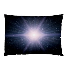 Real Photographs In Saturns Rings Pillow Case