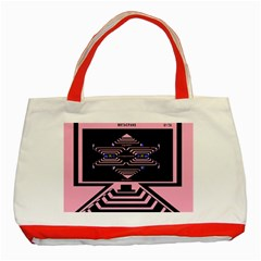 Star Base Classic Tote Bag (red) by MRTACPANS