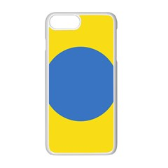 Ukrainian Air Force Roundel Apple Iphone 7 Plus White Seamless Case
