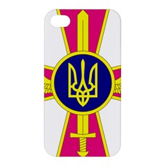 Emblem Of The Ukrainian Air Force Apple Iphone 4/4s Premium Hardshell Case
